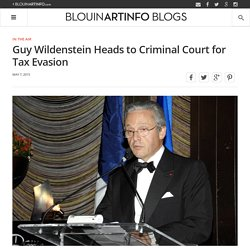 Guy Wildenstein Heads to Criminal Court for Tax Evasion