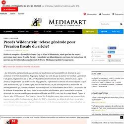 Procès Wildenstein: relaxe générale pour l'évasion fiscale du siècle!