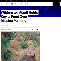 Wildenstein Vault Holds Key to Feud Over Missing Painting