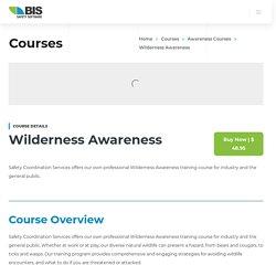 Wilderness Awareness Online Course