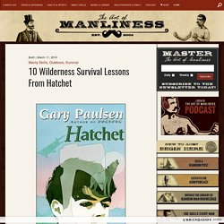 10 Wilderness Survival Skills From Hatchet