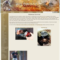 Wildwood Survival - Wilderness Survival, Tracking, Nature, Wilderness Mind