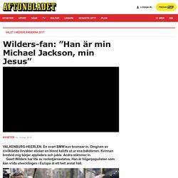 Wilders valtalar - som en rockstjärna