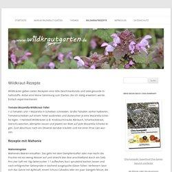Wildkraut-Rezepte