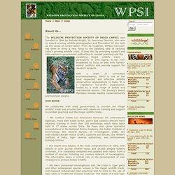 WPSI Wildlife Protection Sty.of India