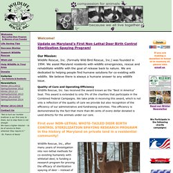 Wildlife Rescue, Inc.