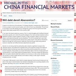 Michael Pettis' CHINA FINANCIAL MARKETS