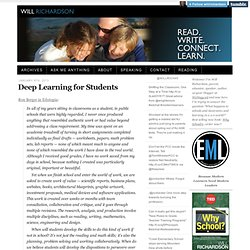 Deep Learning for Students