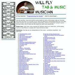 Will Fly's Website