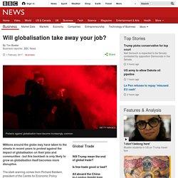 Will globalisation take away your job?