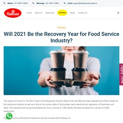 Will 2021 Be the Recovery Year for Food Service Industry?