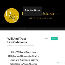 Professional Attorney for Estate Planning in Stillwater