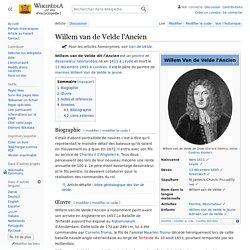 Willem van de Velde l'Ancien