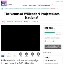 The Venus of Willendorf Project Goes National