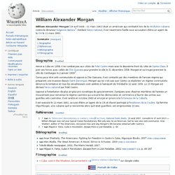 William Alexander Morgan wikipedia