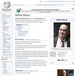 2001 William Binney analyste NSA