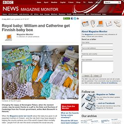 Royal baby: William and Catherine get Finnish baby box