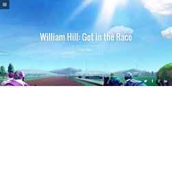 William Hill: Get in the Race