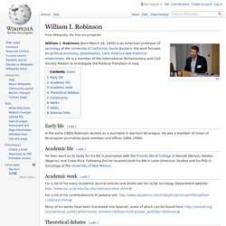 William I. Robinson - Wikipedia