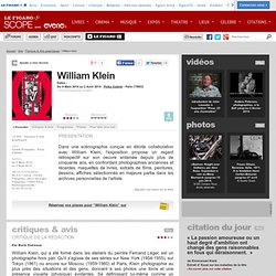 William Klein (En tournee - 8 Mars 2014 - 2 Août 2014)
