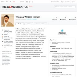 Thomas William Nielsen – The Conversation