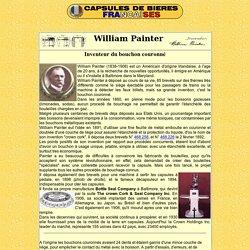 Exemple de dépôt de brevet : William Painter inventeur de la capsule