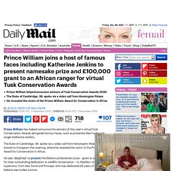 Prince-William-presents-prizes-years-virtual-Tusk-Conservation-Awards