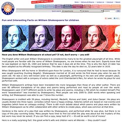 William Shakespeare ks3
