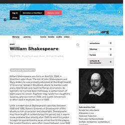 William Shakespeare - Poet