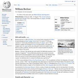 William Borlase