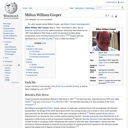 Milton William Cooper
