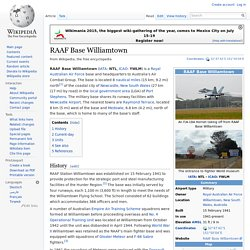 RAAF Base Williamtown