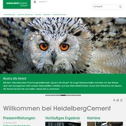 Willkommen bei HeidelbergCement