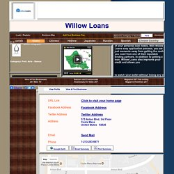 apply for a personal loan with bad credit - willowloans.com