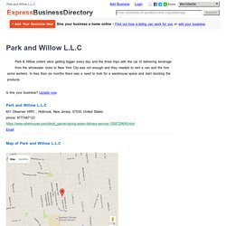 Park and Willow L.L.C, 651 Observer HWY, , Holbrook, New Jersey, 07030, United States