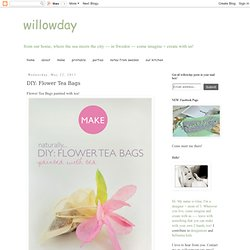 Flower Tea Bags