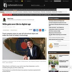 Wills gain new life in digital age