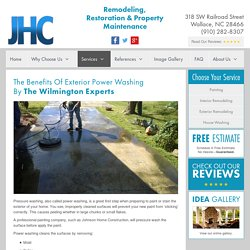 Power Washing Jacksonville NC