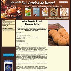 Wilo Benet's Fried Cheese Balls