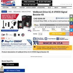 Wilson weBoost Drive 4G-X 470510 LTE Signal Booster Kit