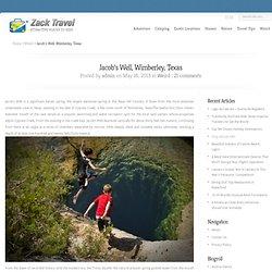 Jacob's Well, Wimberley, Texas