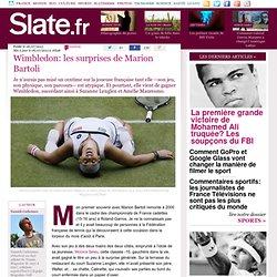 Wimbledon: les surprises de Marion Bartoli