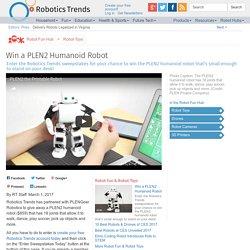 Win a PLEN2 Humanoid Robot