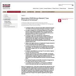 Baromètre IFOP les Français et la banque (mai- sept 2013)