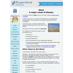 Wind - a Major Cause of Disease
