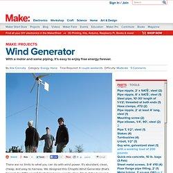 Make a Wind Generator