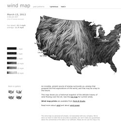 Wind Map: Historical