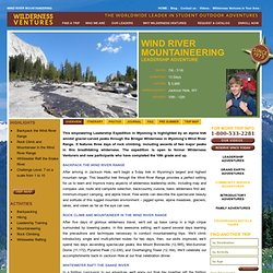 Wind River Mountaineering