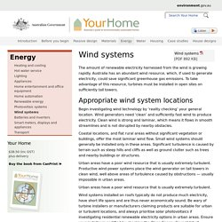 Wind systems