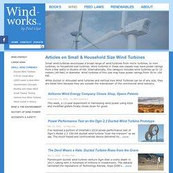 WIND-WORKS: Small Wind Turbines